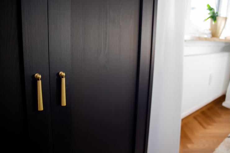 Ikea Havsta Hack Klappgriffe Messing Bild